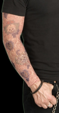 miami ink-day of the dead sleeve