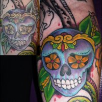 Brighter Colors for Tat Tues